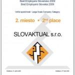 Best Employers Slovensko 2009