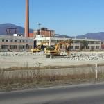 Výstavba novej haly F