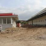Nová Hala F – výstavba v cílové rovince
