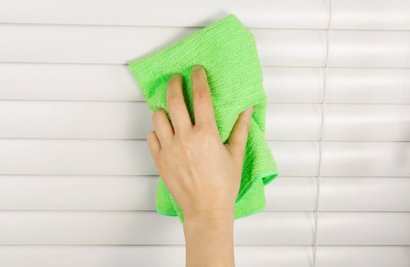 Umývanie žalúzií