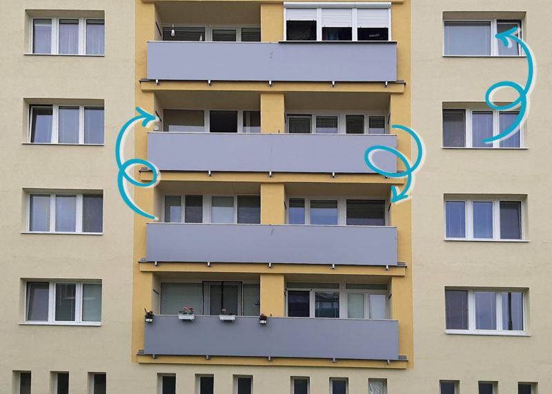 vymena dvojkrídlových okien za jednokrídlové
