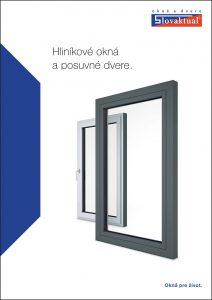 Katalog Hliníkové okná a posuvné dvere