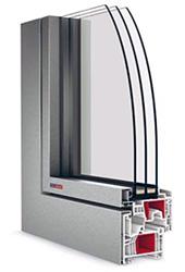 okno OPTIM FL s hliníkovým klipom