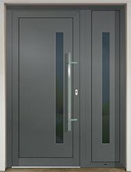 Vchodové dvere SLOVAKTUAL GAVA 917-2 basaltgrau