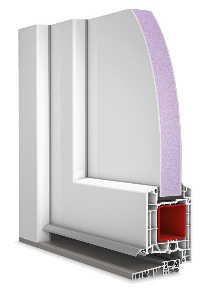 Plastové vchodové dvere D85