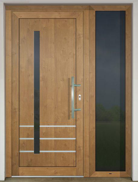 Dvere s HPL dvernou výplňou GAVA 919 vo farbe Irish Oak