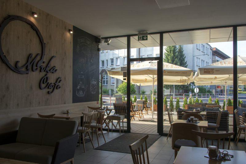 Kaviareň v CENTRO Prievidza