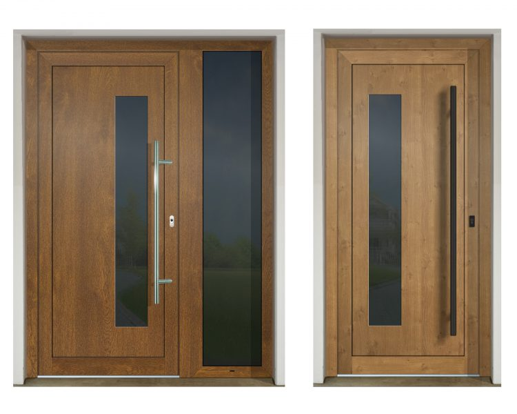 Vchodvé dvere so svetlíkom GAVA 913