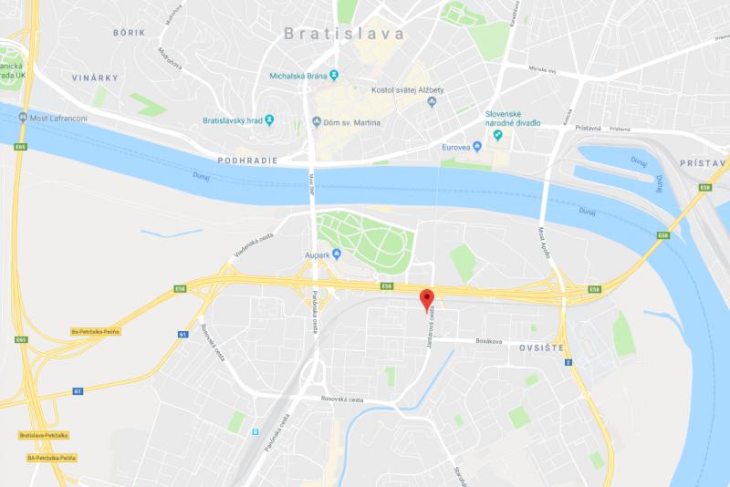 mapa muchovo námestie