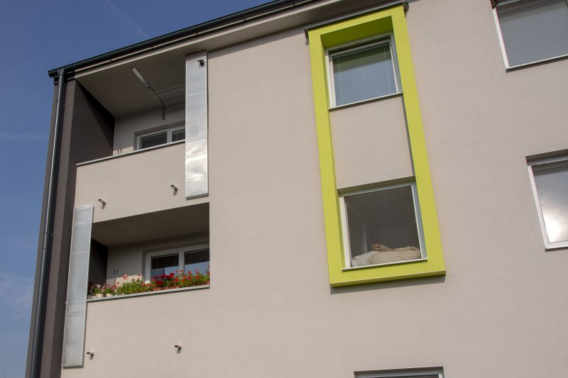 Plastové okná Slovaktual na bytovke