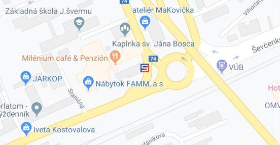 Vzorková predajňa Slovaktual v Humennom