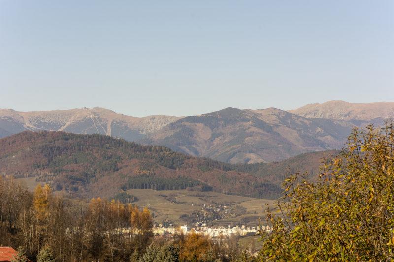 Výhľad z domu na Chopok