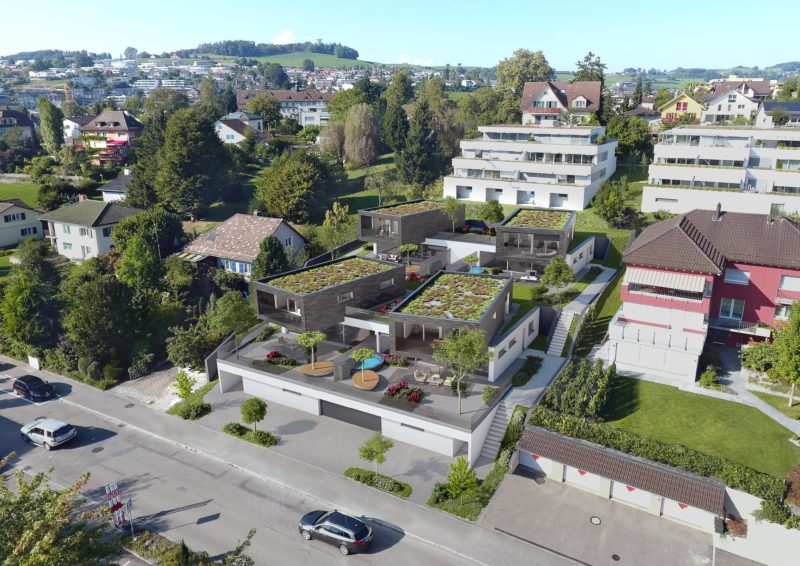 Rodinné domy vo Švajčiarsku s plastovými oknami Slovaktual