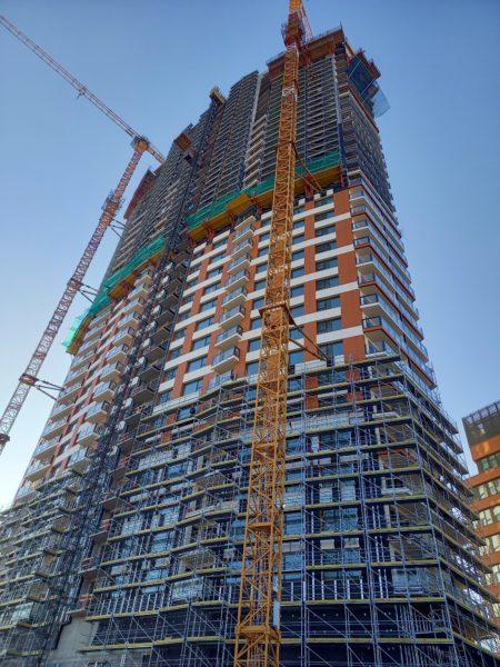 Najvyššia obytná budova v SR Klingerka dosiahla plnú výškuKlingerka