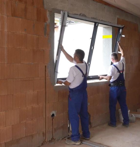 osadenie okna do ostenia stavebného otvoru