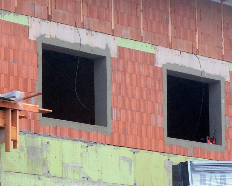 Stavebné otvory pre okná a špalety