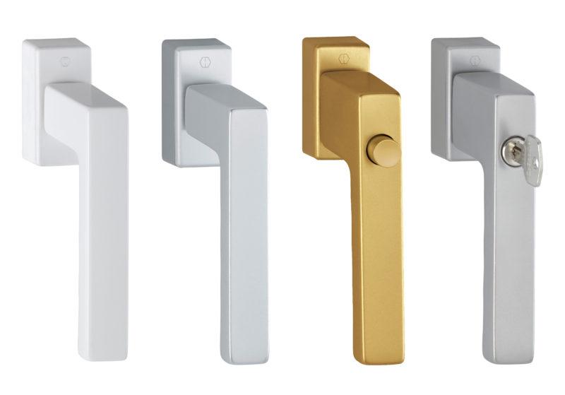 Kľučky pre hliníkové aj plastové okná Slovaktual
