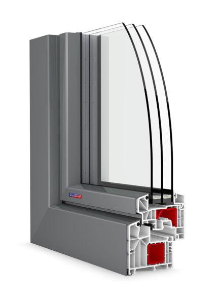 Okná Slovaktual PASIV s hliníkovým klipom