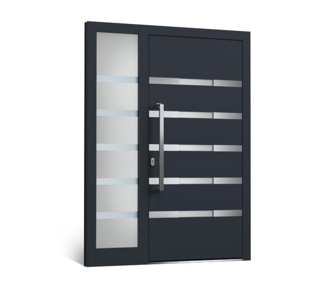Hliníkové vchodové dvere - model 306