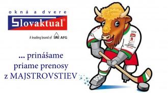SLOVAKTUAL … prinášame priame prenosy z MS v ľadovom hokeji