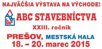 (Slovensky) Výstava ABC stavebníctva v Prešove