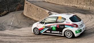 Posádka na Rallye Monte Carlo s podporou Slovaktualu