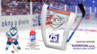 Slovaktual podporuje MS 2016 v ľadovom hokeji.