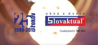Video   Oslava 25 let společnosti Slovaktual