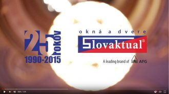 Video – galavečer pri príležitosti 25. výročia spoločnosti Slovaktual