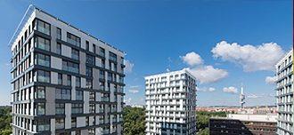 (Slovensky) Hliníkové okná Slovaktual v najväčšej rezidenčnej stavbe v Česku
