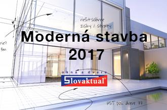 Moderná stavba 2017