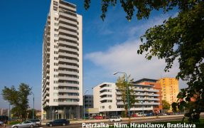 Petržalka, Námestie hraničiarov, Bratislava