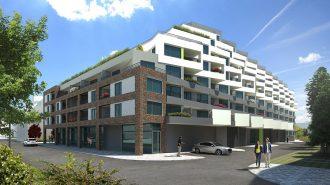 (Slovensky) Rezidencia pri radnici s oknami od Slovaktualu