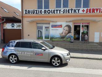 (Slovensky) Žiar nad Hronom: vzorková predajňa okien a dverí