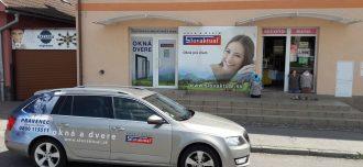 Žiar nad Hronom: vzorková predajňa okien a dverí