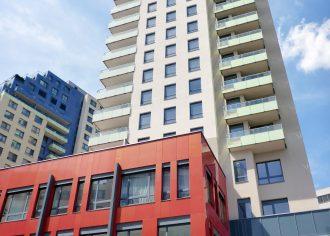 Hliníkové okná vo vežiach CityPark Ružinov
