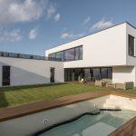 Moderní vila v Dunajské Lužné