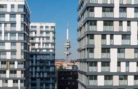 francúzske okná Slovaktual v garden tower