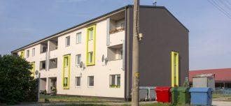 Nájemný bytový dům v obci Pažiť