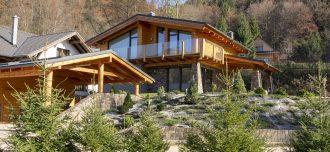 Chata v Bystrej doline v Nízkych Tatrách