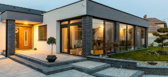 Dom s plastovými oknami