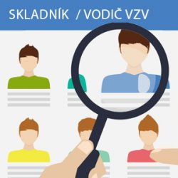 Skladník / vodič VZV